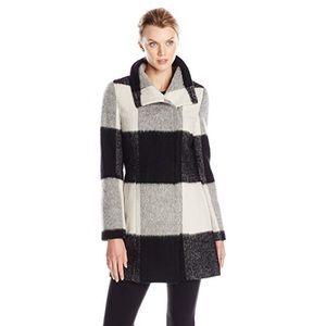 Ivanka Trump Women's Plaid Wool Coat